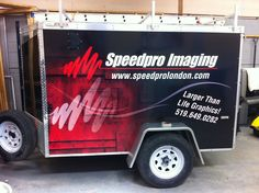 Speedpro provides a full range of custom sign and graphic services such as trade show displays, vehicle wraps, vehicle graphics, retail point-of-purchase displays, banners, retractable banner stands, business cards, flyers, brochures, graphic design, logo design etc. We specialize in printing, design, and installation.