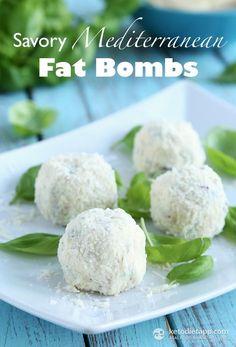 Savory Mediterranean Fat Bombs