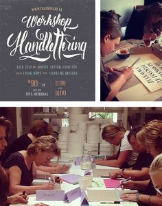 Workshop Handlettering Chalkboard