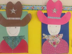 Cowboy and cowgirl art!