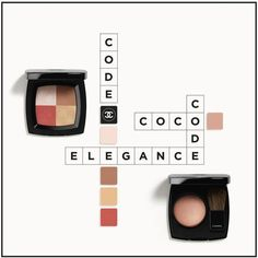 Chanel Spring 2017 Coco Codes makeup collection preview