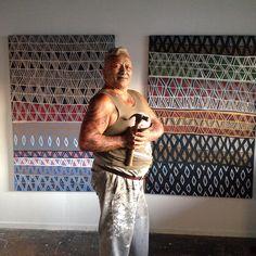 Tame Iti New Zealand Art, Nz Art, Maori Art, Kiwi, Arts And Crafts, Artists, Artwork, Work Of Art, Auguste Rodin Artwork