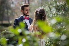 Conexión amor: un editorial que marca nuevas tendencias en las bodas Image: 0