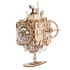 Robotime 5 Kinds 3D Steampunk Puzzle DIY Movement Assembled Wooden Model Toys for Children Adult Brain Training Music Box AM680  Price: 55.99 & FREE Shipping #computers #shopping #electronics #home #garden #LED #mobiles #rc #security #toys #bargain #coolstuff |#headphones #bluetooth #gifts #xmas #happybirthday #fun