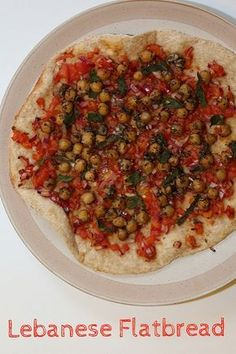 Rachel Cotterill: Lebanese Flatbread with Spicy Chickpeas