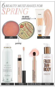 BEAUTY PRODUCT S FOR SPRING