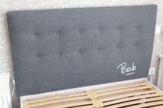1000 images about tete de lit on pinterest bedhead lit palette and deco - Comment fabriquer tete de lit ...