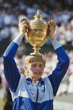 boris becker headband. in 1985, 17-year-old german ace boris becker made history at wimbledon headband n