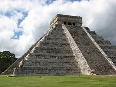 Chichen Itza. See the Seven Wonders of the World