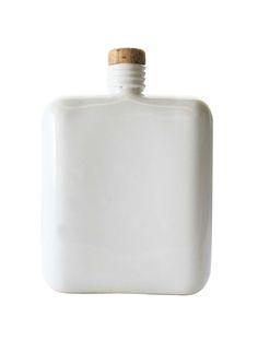\\ porcelain flask