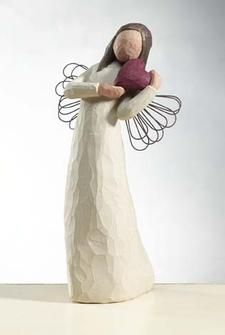 """""""Angel of the Heart""""-  Willow Tree Angel"""