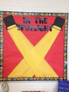 In the Spotlight bulletin board by gwendolyn