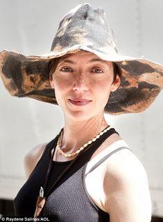 Mia Sara|Her sage advice on warding off sun damage to skin...wear a hat!