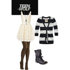 Teen Wolf Allisons Ice Skating Outfit.. I absolutely Love this outfit and that show!