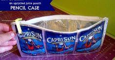 *Jennuine by Rook No. 17*: BACK TO SCHOOL WEEK - Capri Sun Pencil Case Tutorial