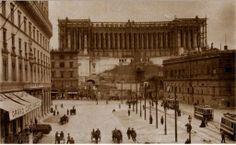 Vittoriano in costruzione - Roma