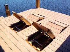 Orlando's Unique Solution for Deck and Dock Construction Demands. Specializing in Commercial and Residential Outdoor Construction Projects. Dock House, House Deck, Lake Dock, Boat Dock, Cottage Design, House Design, Lakeside Living, River House, Cabin Plans