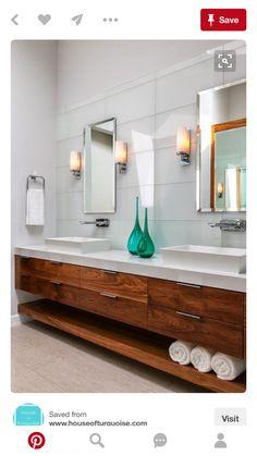 20 Amazing Floating Modern Vanity Designs Wood Vanity