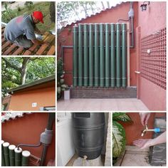 Ways To Make Water From Air – Greenhouse Design Ideas Alternative Energie, Water Collection System, Rain Collection, Water From Air, Rainwater Harvesting System, Natural Farming, Rain Barrel, Water Storage, Water Systems