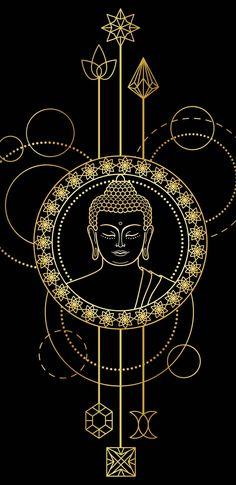 Wall Paper Sperrbildschirm Mandala 34 New Ideas Buddha Drawing, Buddha Painting, Buddha Art, Buda Wallpaper, Lion Wallpaper, Buddha Tattoo Design, Buddha Tattoos, Mandala Design, Mandala Art