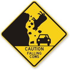 Funny/weird highway road signs