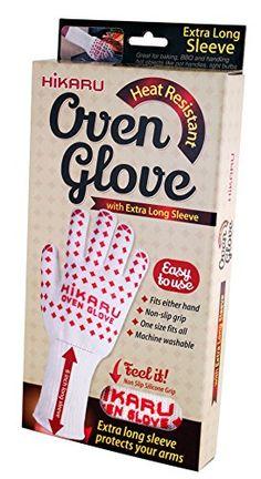 Hikaru Oven Glove with Extra Long Sleeve - Heat Resistant Hikaru http://www.amazon.com/dp/B00OP8VDFY/ref=cm_sw_r_pi_dp_Mi91ub1EC27DR