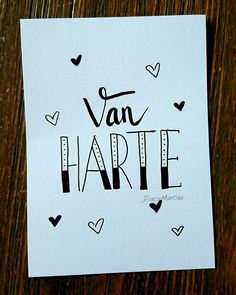 #kaartje #hoera #verjaardag #handlettering #handletteren #dutchlettering #denisemartina Chalk Lettering, Creative Lettering, Hug Quotes, Drawing Quotes, Write It Down, Diy Cards, Handmade Cards, Birthday Cards, How To Draw Hands