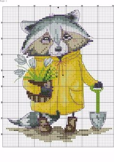 Gallery.ru / Фото #6 - 🐄🐮🐣Cross stitch cuties🐝€ - Zanny Butterfly Cross Stitch, Cute Cross Stitch, Cross Stitch Alphabet, Cross Stitch Animals, Cross Stitch Designs, Cross Stitch Patterns, Cross Stitching, Cross Stitch Embroidery, Everything Cross Stitch