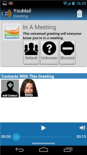 Voicemail app