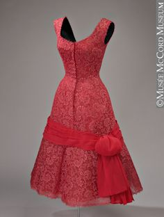 Dress  Jacques Fath, 1950  The McCord Museum