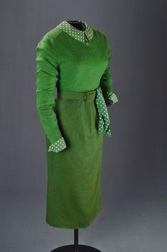 "Kim Novak, ""Vertigo,"" Paramount, 1958, Designed by Edith Head, The Collection of Motion Picture Costume Design: Larry McQueen"