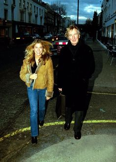 """2001 - Alan Rickman and Sonya Walger. Sonya Walger played Sister Mary in """"The Search for John Gissing""""."""