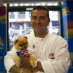 Jiff with Buddy Valastro, Cake Boss Cake Boss Family, Cake Boss Buddy, Carlos Bakery, Buddy Valastro, Rose Cookies, Master Baker, Lord Of Hosts, Good Morning America, Pomeranian