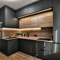Kitchen Room Design, Kitchen Cabinet Design, Modern Kitchen Design, Home Decor Kitchen, Interior Design Kitchen, Kitchen Furniture, Kitchen Ideas, Furniture Design, Modern Kitchen Interiors