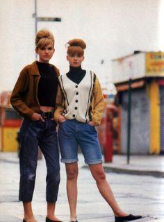 Lara Rossignol for Sassy magazine, August 1988.
