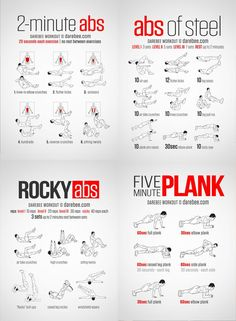 If you have been looking for a new ab workout, one to help you build up your abs and burn more calories to help you reveal them, then we have just the list for you. Neilarey.com (now Darebee.com) is a brilliant fitness resource, full of workout infographics, recipes and fitness challenges.