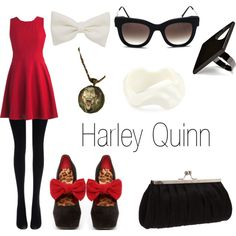 Harley Quinn, created by marsiamaez on Polyvore