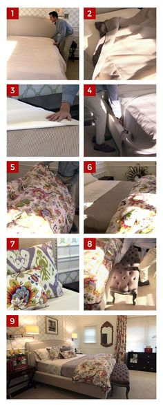 Click this image to hear #DreamBuilders designer Dann tell you how to make the perfect bed. #design #homeimprovement