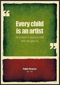 Stay an artist!