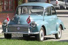 1960 Morris Minor.