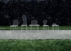 Family Chair outdoor version (design Junya Ishigami). made in Italy by Living Divani