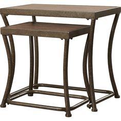 2-Piece Hester Nesting Table Set | Joss & Main