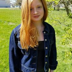 EUC Versatile  Denim Jacket While I think she looks absolutely adorable in it, she wants something a little more fitted so I am reposhing this jacket!  Super Versatile.  Can be used with virtually any outfit. (My daughter, the model, typically wears a small..this jacket may run a little small) Jackets & Coats Jean Jackets