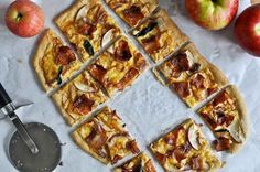Whole Wheat Autumn Apple Pizza | 28 Ways To Eat Apples This Fall