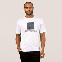 LOVE PALE BLUE DOTT-SHIRT T-Shirt - mens sportswear fitness apparel sports men healthy life