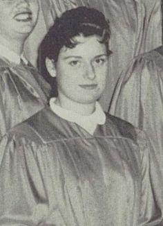 Carol Crudgington Lennox High School Lennox California America 1959