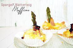 Spargel Blätterteig Muffins