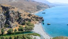 Preveli Beach, also known as Palm Beach, is one of Greece's most instantly recognizable stretches of sand.