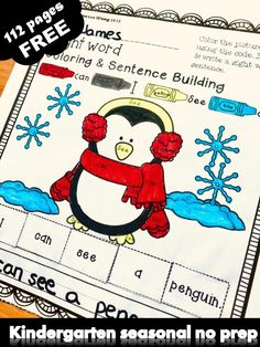 Free kindergarten activities and worksheets. Teaching kindergarten classroom with wonderful free printables . Tons of awesome literacy and math worksheets to engage your students to learn about spring, summer , fall and winter with fun. Kindergarten Classroom, Kindergarten Activities, Winter Activities, Classroom Activities, Shape Activities, Preschool, Literacy Worksheets, Math Literacy, Literacy Centers
