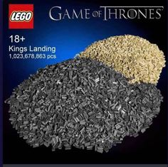 26 Funny Game of Thrones Memes That Might Help the Burn of Season 8 Watch Game Of Thrones, Game Of Thrones Facts, Game Of Thrones Quotes, Lego Games, Lego Lego, King's Landing, Free Tv Shows, Got Memes, Take My Money